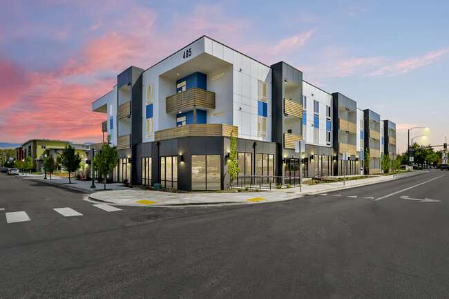 405 Parkway Apartments Multifamily Design